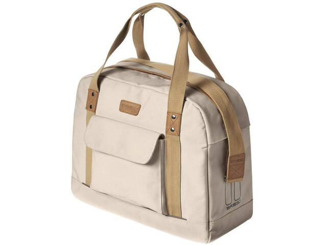 Basil Portland Business Luggage Pannier Bag 19l Women creme